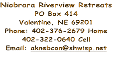 Niobrara Riverview Retreats